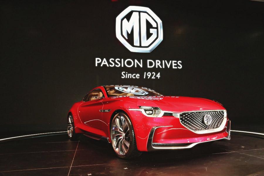 เผยโฉมรถต้นแบบ MG E-Motion ในงาน Motor Expo 2018
