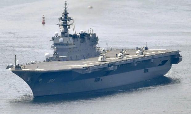 ญี่ปุ่นกำลังจะมีเรือบรรทุกเครื่องบินอีกครั้ง เอาไว้เตรียมรับมือจีน