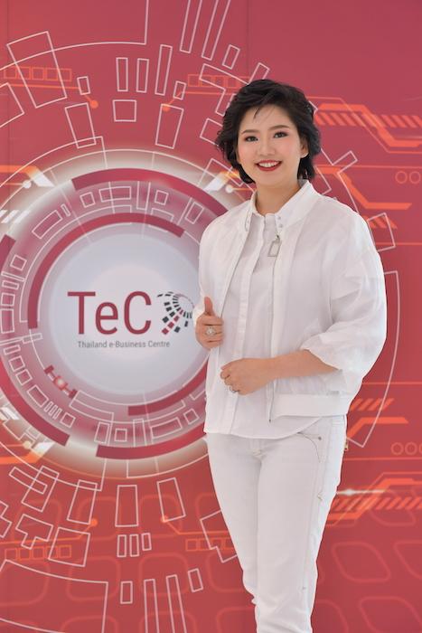 กุลธิรัตน์ ภควัชร์ไกรเลิศ ประธานเจ้าหน้าที่บริหาร บริษัท เทค อี-บิสิเนส เซ็นเตอร์ (Thailand e-Business Center) หรือ TeC