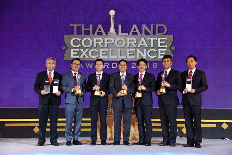 """เอสซีจี รับ 5 รางวัลความเป็นเลิศ และ 3 รางวัลดีเด่น """"Thailand Corporate Excellence Awards 2018"""""""