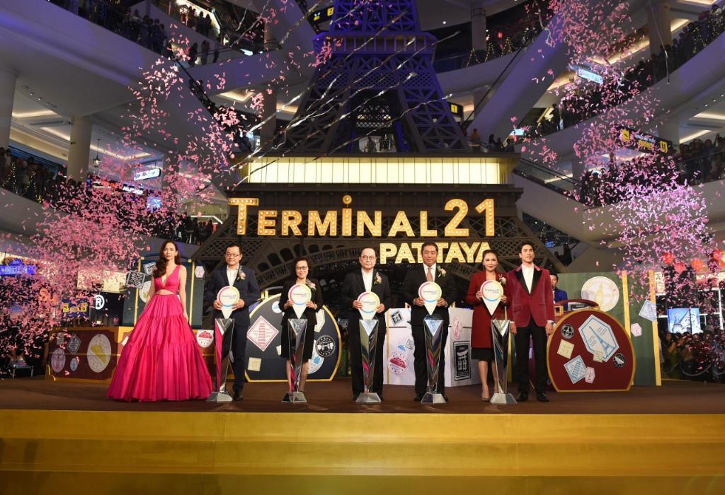 """เปิดแล้วอย่างเป็นทางการ! """"Grand Opening ศูนย์การค้า Terminal 21 พัทยา"""" ท่าอากาศยานแห่งการช้อปแห่งใหม่"""