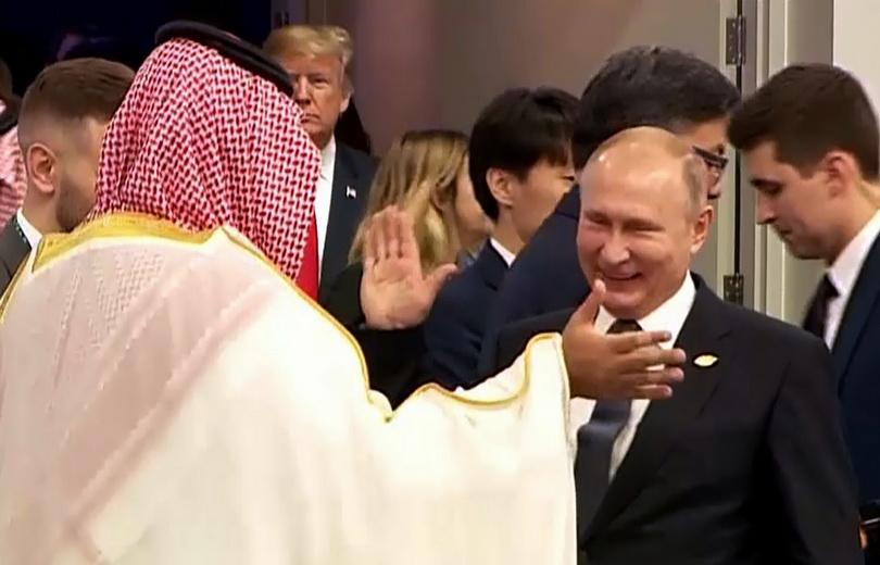 In Pics: 'ปูติน' ยิ้มร่าต้อนรับมกุฎราชกุมารซาอุฯ ในเวที G20 แต่ผู้นำยุโรปยังเย็นชา