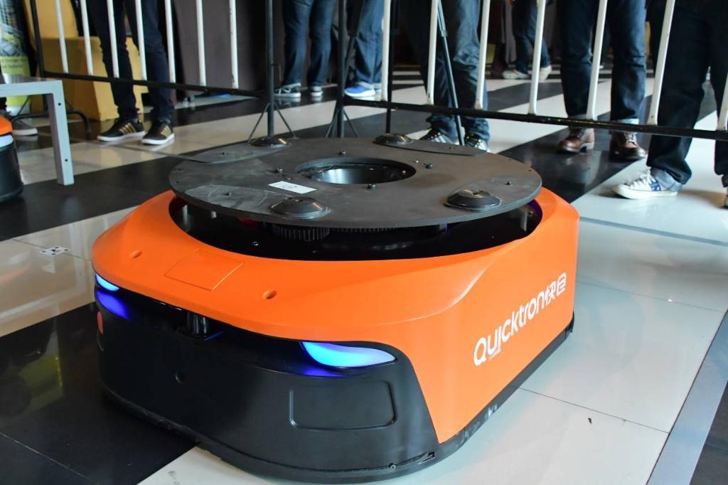 สวทช.นำหุ่นยนต์ขนส่ง สาธิตผปก.พื้นที่ EEC  หวังลดต้นทุนโลจิสติกส์