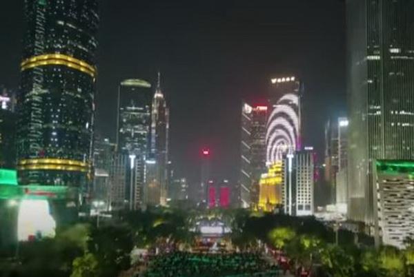 เทศกาลแสงสีนานาชาติก่วงโจว (Guangzhou International Light Festival) ครั้งที่ 8 (ภาพจากคลิป)