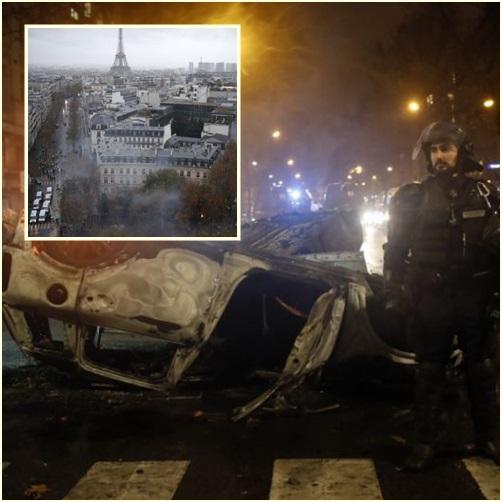 """InClips: ฝรั่งเศสป่วน!! ผู้ประท้วงถูกจับไม่ต่ำกว่า  224 เจ็บร่วม 110 หลัง """"กลุ่มเสื้อกั๊กเหลือง"""" เดินขบวนต้านขึ้นภาษีน้ำมันติดต่อเป็นสัปดาห์ที่ 3"""