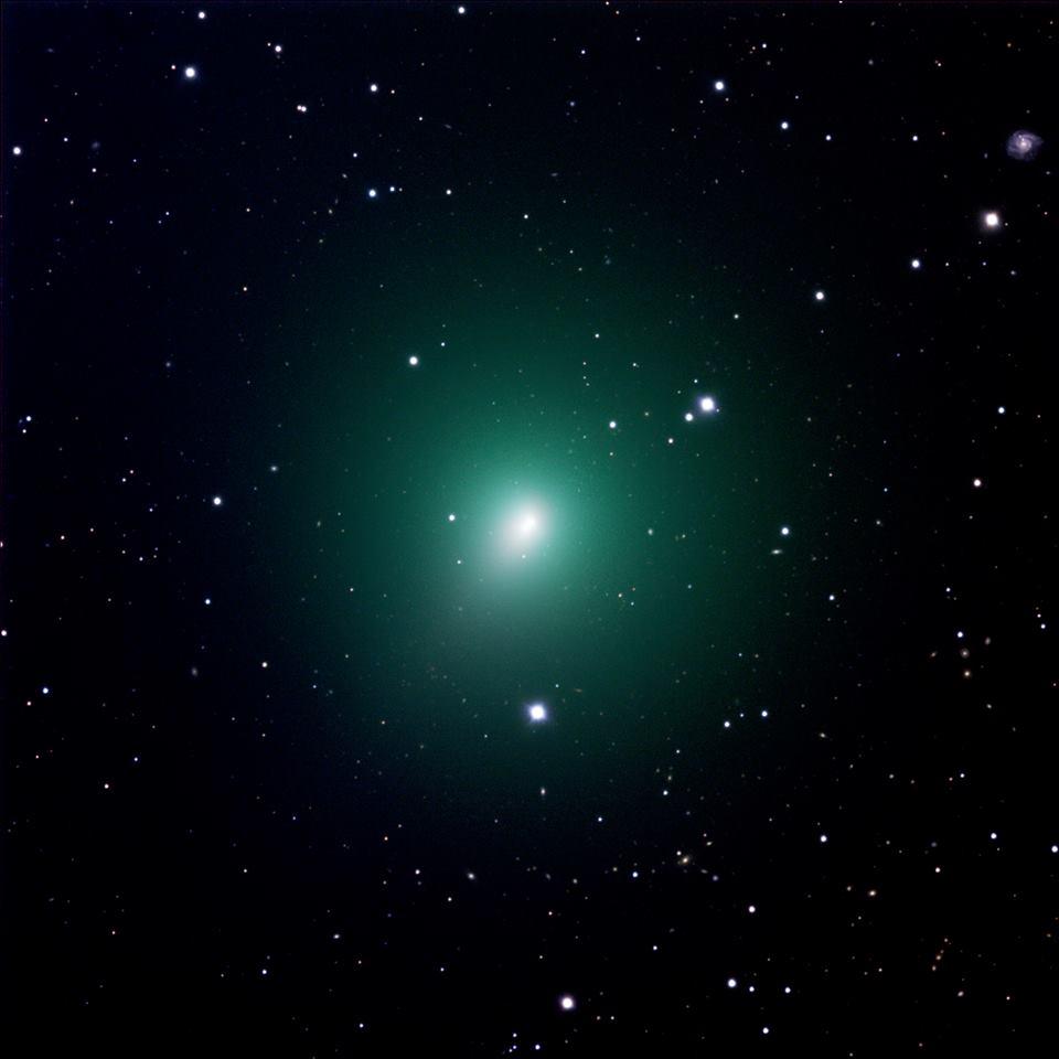ภาพดาวหาง 46P/Wirtanen ในช่วงเดือนพฤศจิกายน ที่ผ่านมา ถ่ายภาพโดยกล้องโทรทรรศน์ทางไกลอัตโนมัติขนาดเส้นผ่านศูนย์กลาง 0.7 เมตร.