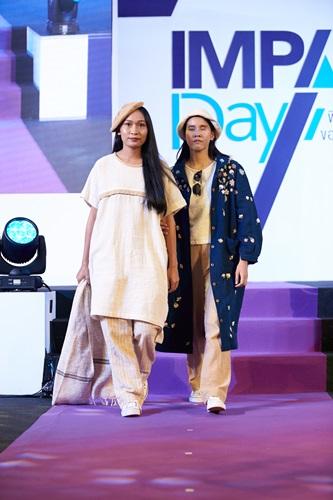 """ทอปวิว งาน Impact Day และ Fashion for Change แฟชั่นโชว์ในธีม """"Ethical crafts  Crafts for All, All are Craft"""""""