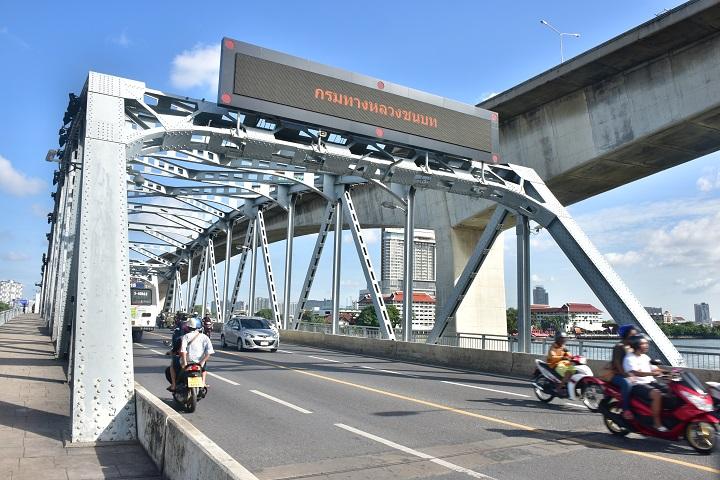 งดใช้สะพานกรุงเทพฯ คืนวันที่ 7 ธ.ค. เพื่อซ่อมระบบเปิด-ปิด