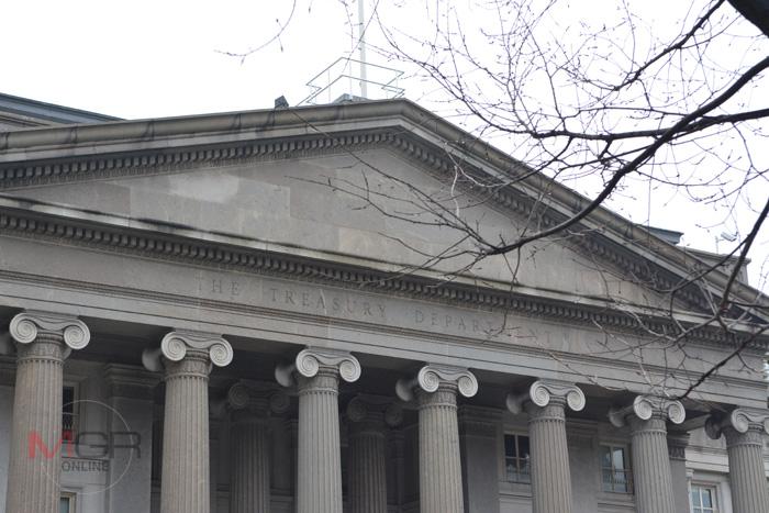 อาคารสำนักงานกระทรวงการคลังสหรัฐฯ (U.S. Treasury Building)