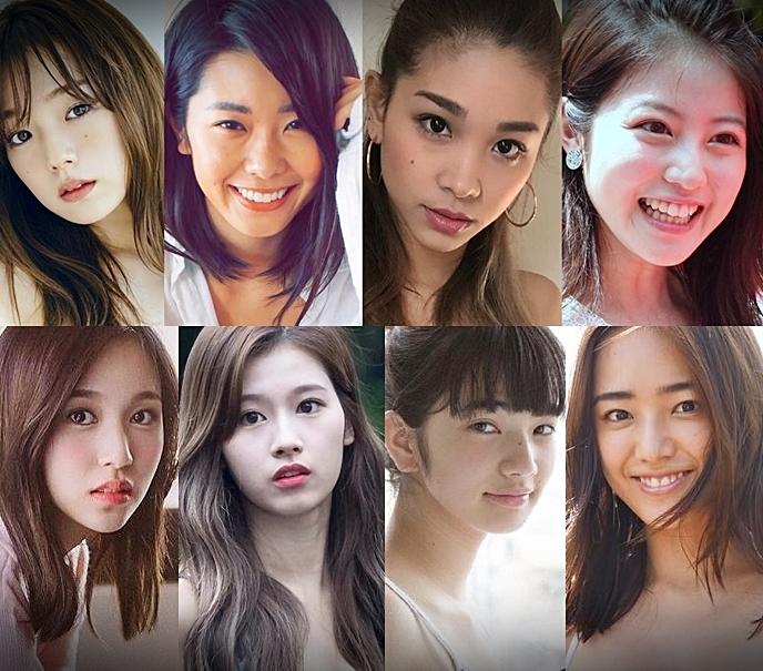 วาร์ป 14 สาวญี่ปุ่นที่ติด โพล 100 คนใบหน้าสวยที่สุดในโลก 2018