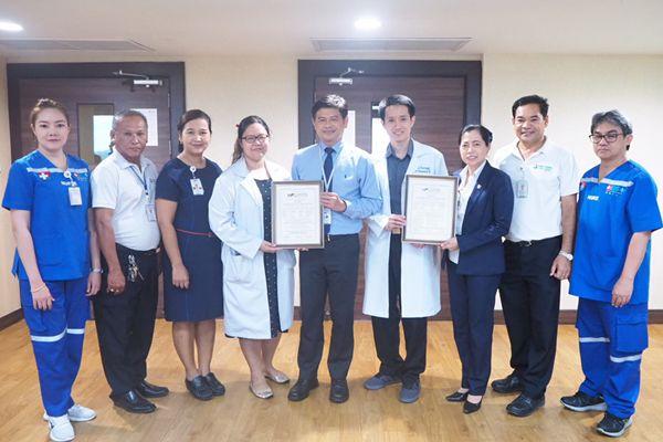 รพ.กรุงเทพภูเก็ตผ่านการรับรองมาตรฐานเคลื่อนย้านผู้ป่วยระดับสากล