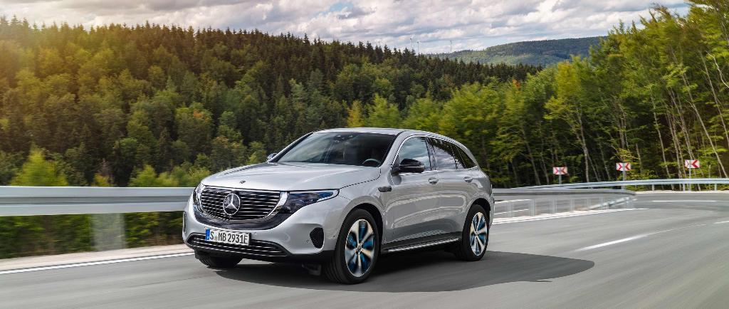 Mercedes-Benz EQC รถยนต์ไฟฟ้า 100%
