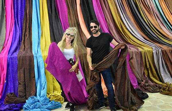 ดีไซเนอร์ จากต่างประเทศเข้าร่วม โครงการมหกรรมผ้าไหม ไหมไทย สู่เส้นทางโลก ปีที่ 8