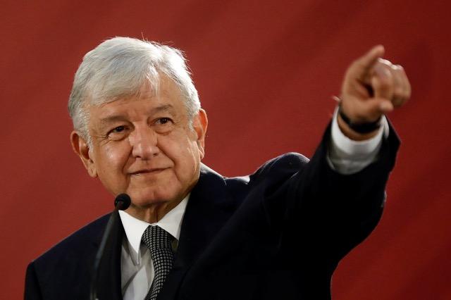 นายAndres Manuel Lopez Obrador ประธานาธิบดีเม็กซิโก คนใหม่