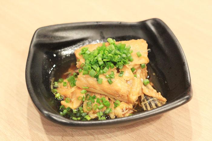 ท้องปลาแซลมอนต้มซีอิ๊ว