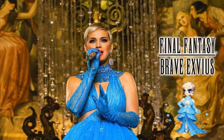 """นักร้องสาว """"Katy Perry"""" โผล่ลงเกมไฟนอลแฟนตาซี"""