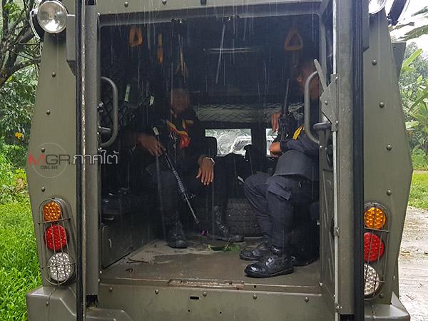 ทหารพรานยิงปะทะคนร้ายขณะลาดตระเวนในระแงะ คาดคนร้ายเจ็บเร่งปิดล้อมค้นหา