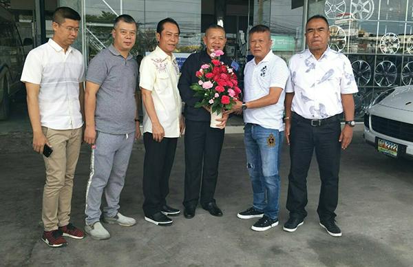 รอง ผบช.ภ.1 อวยพรวันเกิดนักธุรกิจเมืองกรุงเก่า
