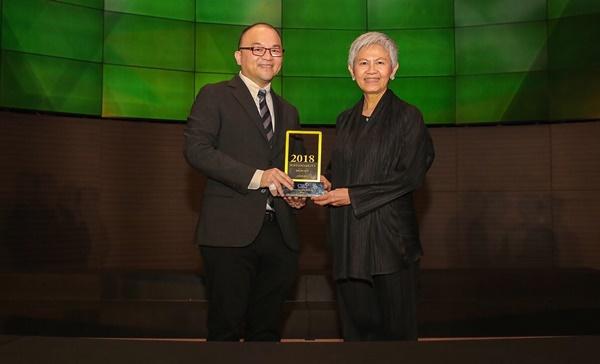 LPN รับรางวัลรายงานความยั่งยืนดีเยี่ยม ปี 2561