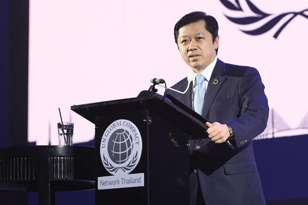 """""""บัน คี มูน"""" ร่วมเปิดตัว""""สมาคมเครือข่ายโกลบอลคอมแพ็กแห่งประเทศไทย""""  รวมพลังภาคเอกชนขับเคลื่อนการพัฒนาประเทศอย่างยั่งยืน"""