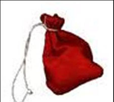ถุงแดงข้างพระแท่นบรรทม ร.๓ จำลอง