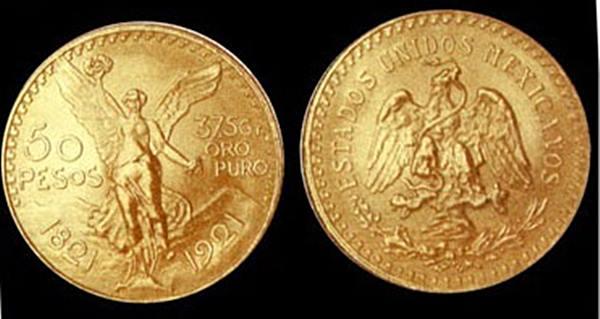 """""""เหรียญนก"""" ของเม็กซิโก"""