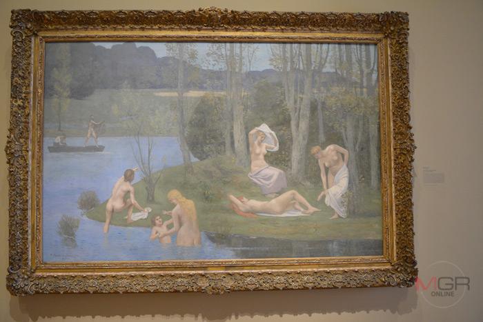 Summer, 1891 Oil on fabric โดย Pierre Puvis de Chavannes