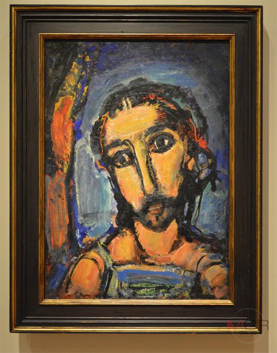 Head of Christ, ราว 1937 Oil on canvas โดย Georges Rouault