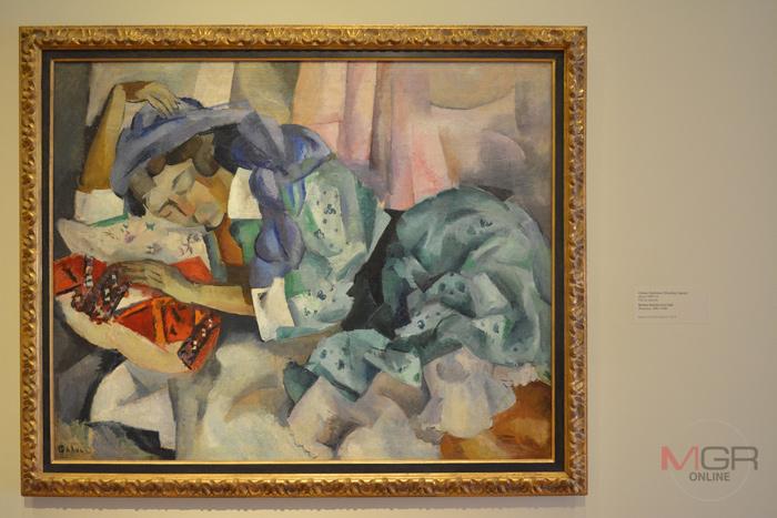 Gitane Endormie (Sleeping Gypsy), ราว 1909-12 Oil on canvas โดย Robert Rafailovich Falk