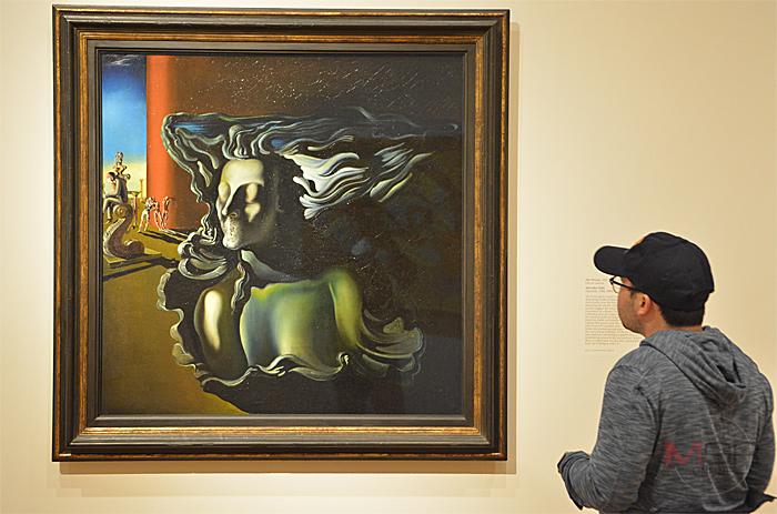 The Dream, 1931 Oil on canvas โดย Salvador Dali