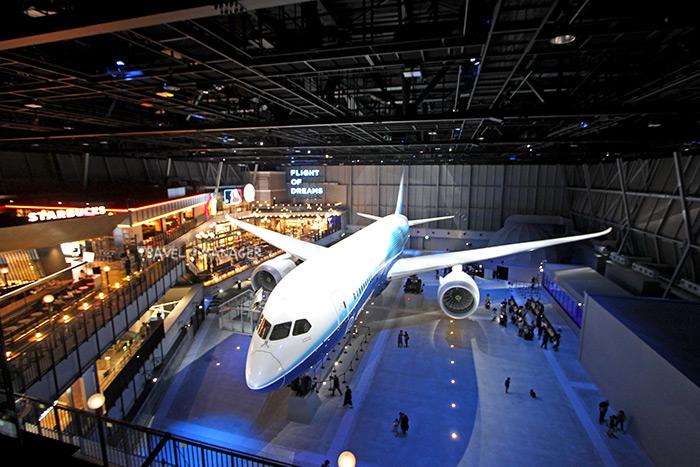 Flight of Dreams นำเครื่องบินของจริงมาจัดแสดงและเปิดให้เข้าชมภายใน