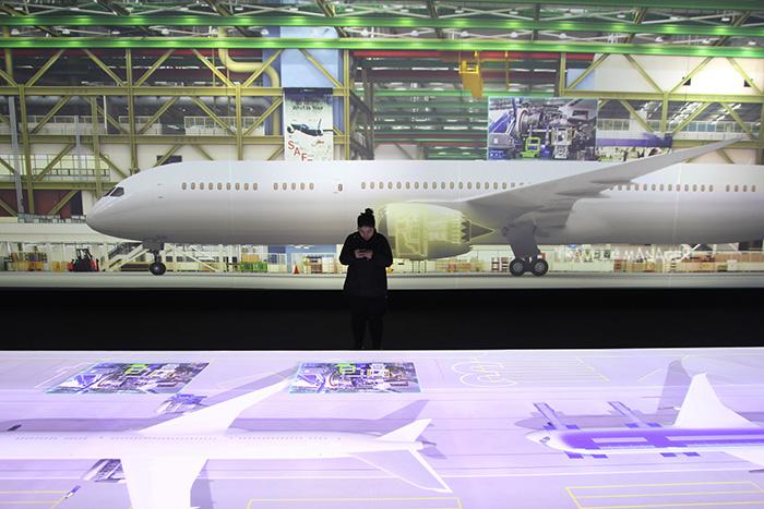 ซีจีแสดงนวัตกรรมการสร้างเครื่องบิน