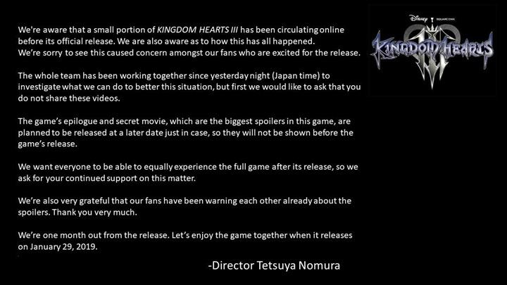 """งานเข้า! แผ่นเกม """"Kingdom Hearts III"""" หลุดก่อนขายเป็นเดือน"""