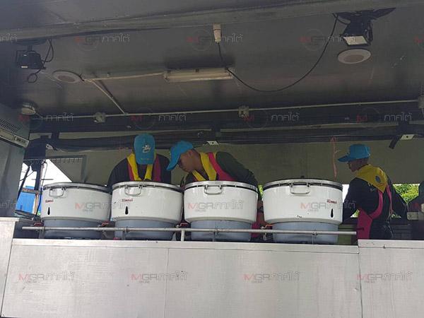 แม่ทัพ 4 สั่งจัดรถครัวสนามเคลื่อนที่ออกบริการประชาชนสุไหงโก-ลก
