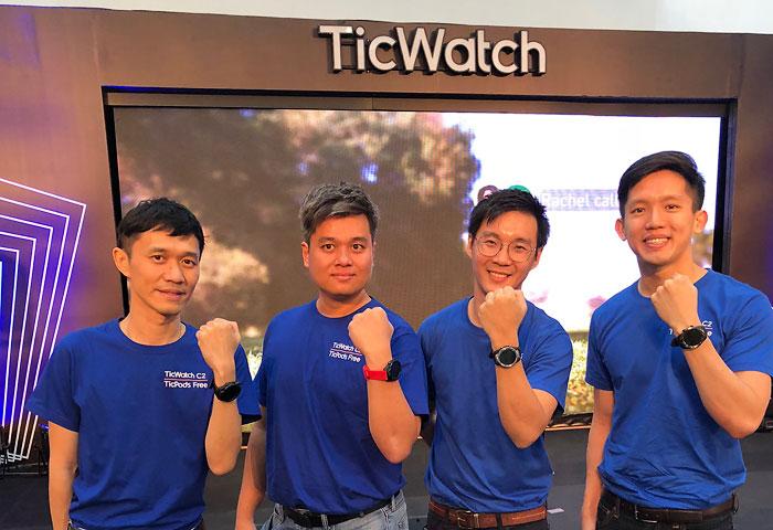 Mobvoi ส่ง TicWatch C2ลงตลาดสมาร์ทวอทช์แฟชันไทย