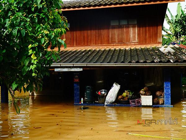 พัทลุงยังประกาศเตือนรับมือน้ำท่วมฉับพลัน ขณะที่สถานการณ์น้ำท่วมเริ่มคลี่คลาย