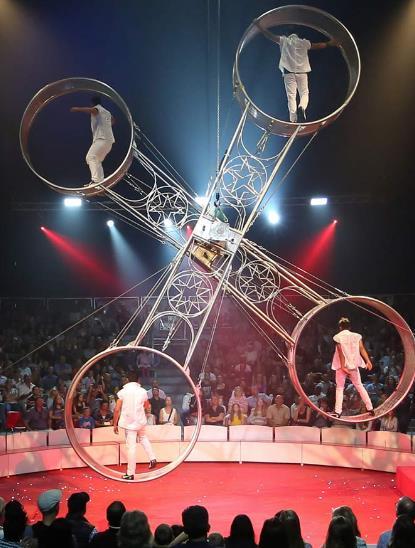 ตื่นตา The Great Moscow Circus
