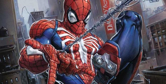 ไอ้แมงมุม PS4 โหนใยจากคอนโซล สู่การ์ตูนคอมิค