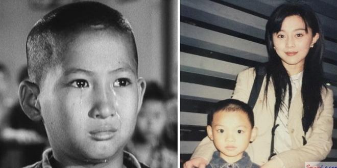 หงจินเป่า ในวัยเด็ก - ฟ่านปิงปิง และน้องชายในวัยเด็ก