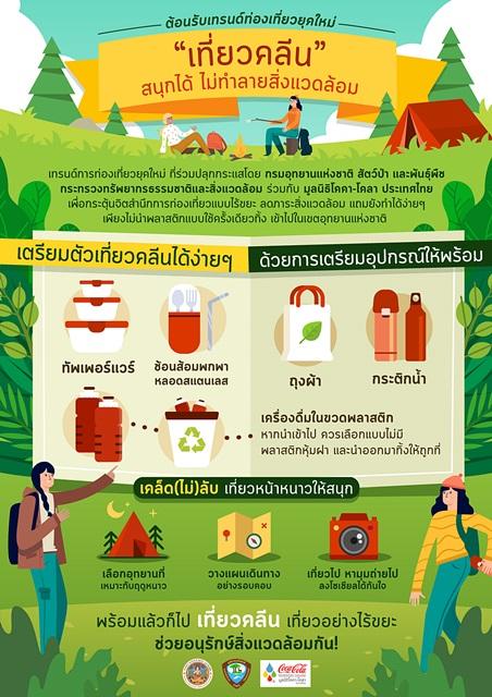 """""""เที่ยวคลีน"""" เทรนด์ท่องเที่ยวยุคใหม่ สนุกได้ ไม่ทำลายสิ่งแวดล้อม เปิดเคล็ด (ไม่) ลับ! เที่ยวเมืองไทยช่วงปีใหม่"""