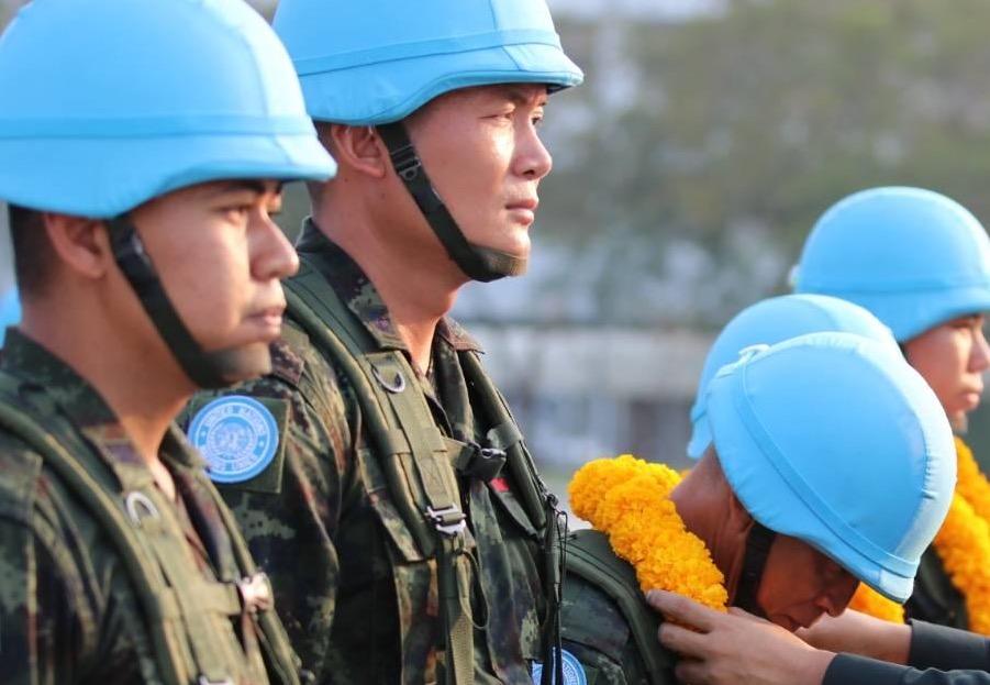 กองทัพไทยส่งกำลังพลไปร่วมภารกิจสันติภาพยูเอ็นที่ซูดานใต้