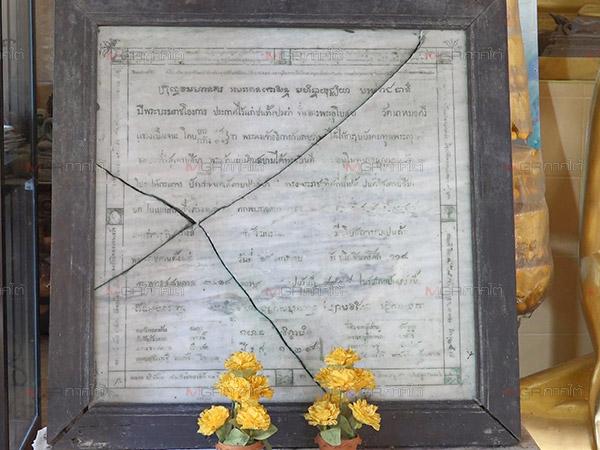 ตะลึง! พบแผ่นศิลาพระราชโองการปักเขตวิสุงคามสีมาสมัย ร.๔ อายุกว่า 123 ปี
