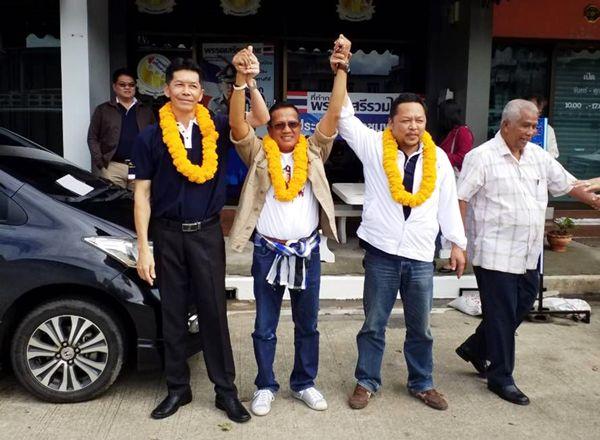 พรรคเสรีรวมไทยประกาศเปิดตัวว่าที่ผู้สมัคร ส.ส.ชุมพร  3 เขตชูหัวหน้าพรรคนั่งนายกรัฐมนตรี