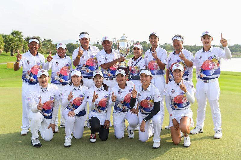 """ทีมไทยสร้างประวัติศาสตร์คว้าแชมป์  """"อมตะ เฟรนด์ชิพ คัพ 2018"""""""