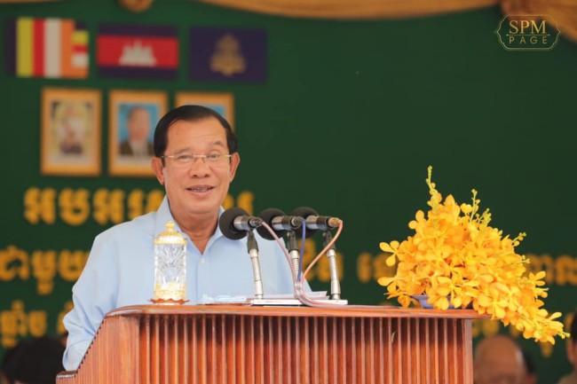 """""""ฮุนเซน"""" คุยการเมืองกัมพูชามีเสถียรภาพมั่นคงหลังการเลือกตั้งเดือนก.ค."""