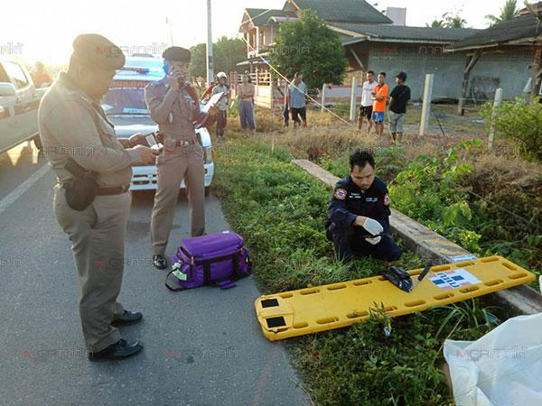 สลด! อุบัติเหตุสตูลรับ 7 วันอันตรายสังเวยถนนแล้ว 4 ศพ