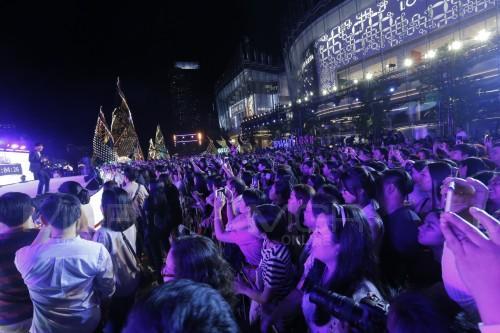 ปชช.ร่วมเฉลิมฉลองเทศกาลต้อนรับปีใหม่ 2562 ณ ไอคอนสยาม