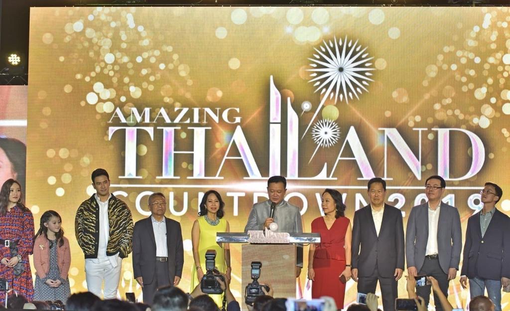 """ไอคอนสยาม """"ส่งท้ายปีเก่าต้อนรับปีใหม่ Amazing Thailand Countdown 2019"""" ภายใต้แนวคิด """"แม่น้ำแห่งความรุ่งเรือง"""""""