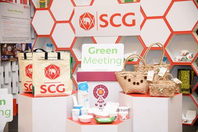 """เอสซีจีชูธง""""Green Meeting""""ทุกกิจกรรมตลอดปี2562 ตามแนวคิดเศรษฐกิจหมุนเวียน"""