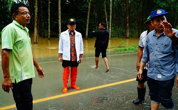 ผู้ว่าฯ พัทลุง แจ้งเตือนประชาชนเตรียมรับมือพายุปาบึก กำชับทุกหน่วยต้องพร้อม